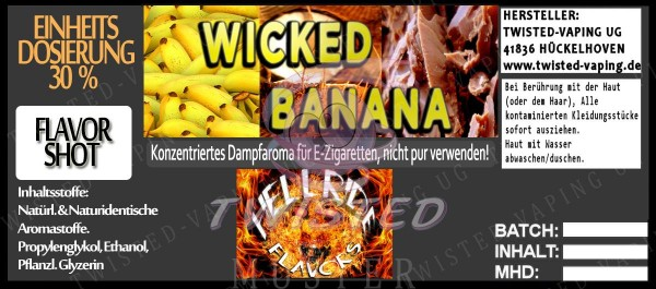Hellride Aroma Wicked Banana FlavorShot