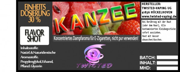 Twisted Aroma Kanzee FlavorShot