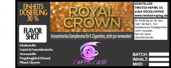 Twisted Aroma Royal Crown FlavorShot