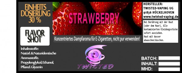 Twisted Aroma Strawberry FlavorShot